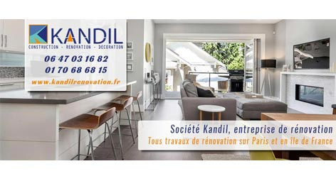 avis clients sur l 39 entreprise de r novation kandil paris. Black Bedroom Furniture Sets. Home Design Ideas